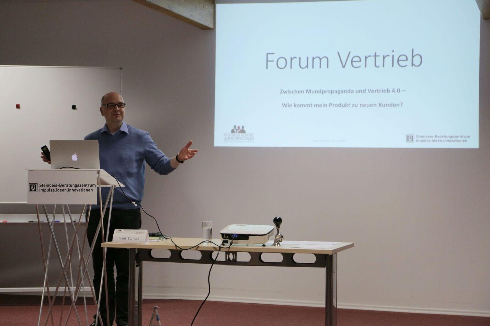 Frank Börnard vom Steinbeis Beratungszentrum impulse.ideen.innovationen spricht über Vertrieb 4.0